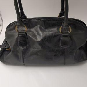 Hobo leather shoulder bag EUC no flaws.
